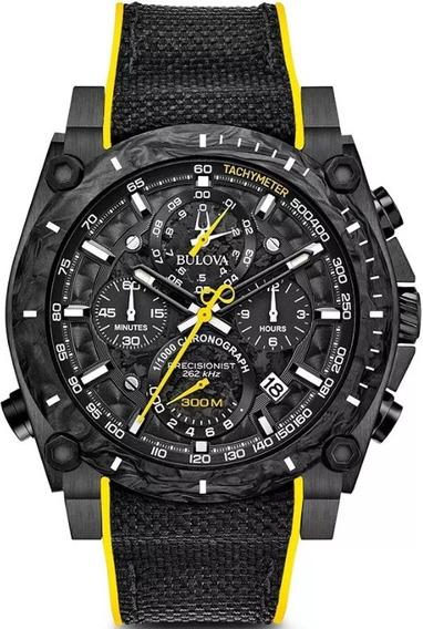 Reloj Bulova 98b312 Precisionist Cronógrafo - 100% Original