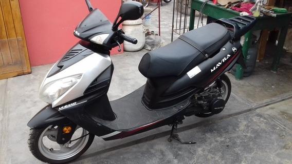 Moto Scooter 150 Cc Mavila