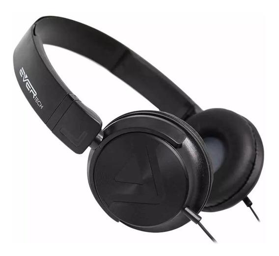 Headphone Power Bass Evhp-20m Ever Tech