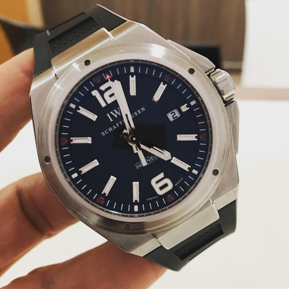Iwc Ingenieur Mission Earth 46mm Completo Impecável