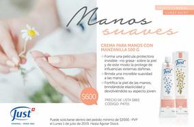 Crema De Manzanilla Para Manos