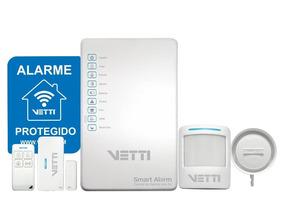 Kit Alarme Vetti Smart Alarm S/ Fio + Discador Fixo 730-0762