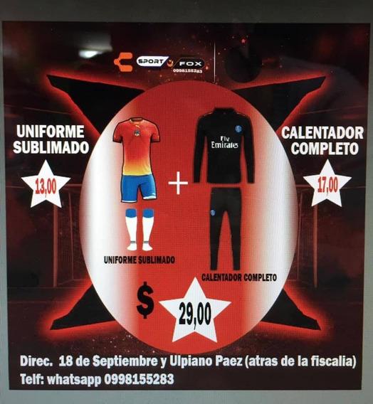 Ropa Deportiva Uniformes Calentadores Etc