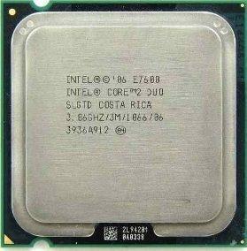 Processador Intel 775 Core 2 E7600 Lga Oferta!