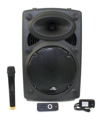 Caixa De Som Portátil Amplificada Bluetooth 300w Rms Infinity Sumay Usb Sdcard Fm Aux Microfone