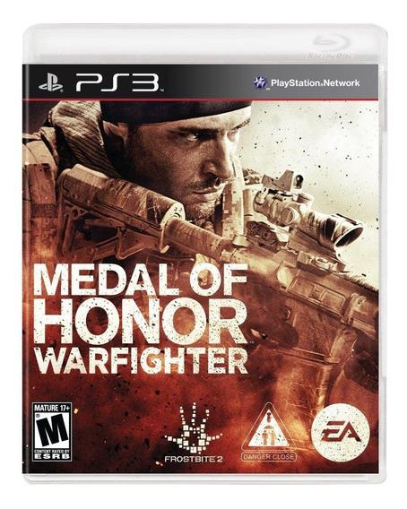 Jogo Playstation 3 Medal Of Honor Warfighter Limited Novo La