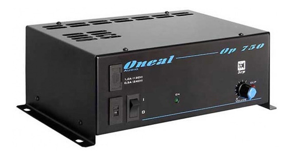 Amplificador De Potência Oneal Op750 Nota Fiscal Garantia