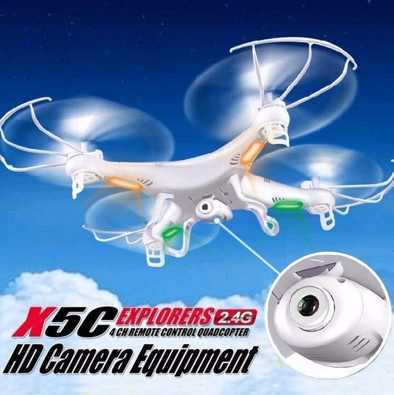 Drone X5c Com Camera Hd, 4 Axis, 2,4ghz Pronta Entrega