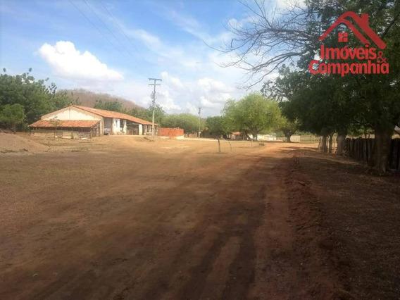 Fazenda À Venda, 259000 M² Por R$ 1.500.000,00 - Aracoiaba - Aracoiaba/ce - Fa0002