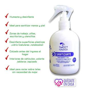 Alcohol Sanitizante 70/30 300ml Con Pulverizador