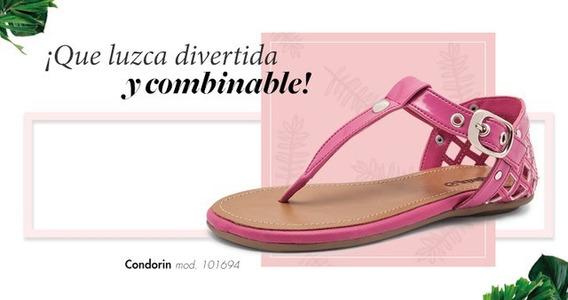 Sandalia Condorin 101694 Fiusha Para Niña