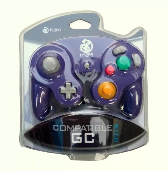 Controle Para Gamecube E Wii Nintendo Novo Lacrado