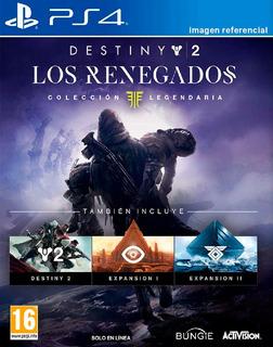 Destiny 2 Los Renegados / Colección Completa / Juego Ps4