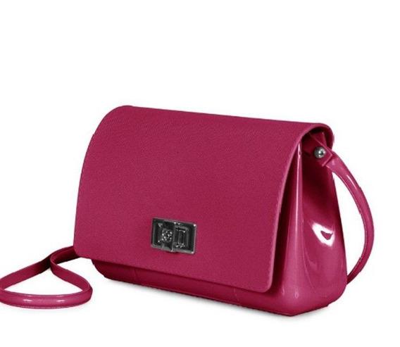 Bolsa Petite Jolie Feminina Pvc One Bag Express Vinho