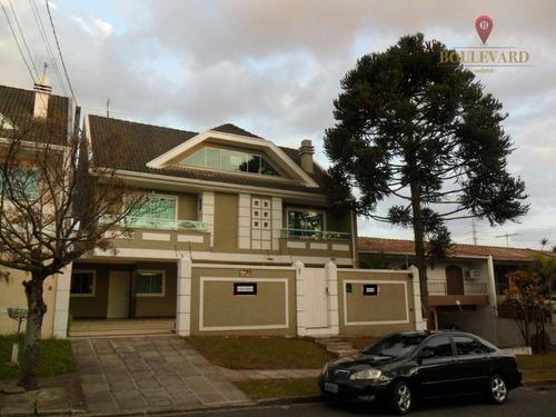 Imagem 1 de 27 de Sobrado Com 4 Dormitórios À Venda, 285 M² Por R$ 1.250.000,00 - Jardim Das Américas - Curitiba/pr - So0063