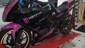 Pedaleira Tt Race Esportiva Ninja 250 Ninja 300 Z 300