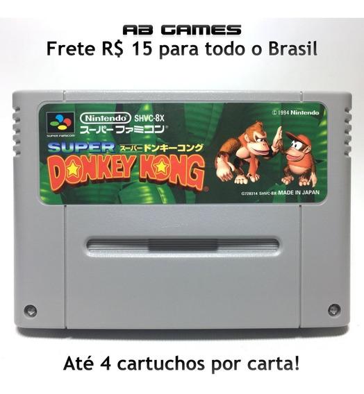 Super Donkey Kong Japonês Super Famicom