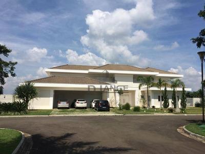 Casa Com 5 Dormitórios À Venda, 700 M² Por R$ 5.500.000 - Condomínio Chácaras Do Alto Da Nova Campinas - Campinas/sp - Ca12895