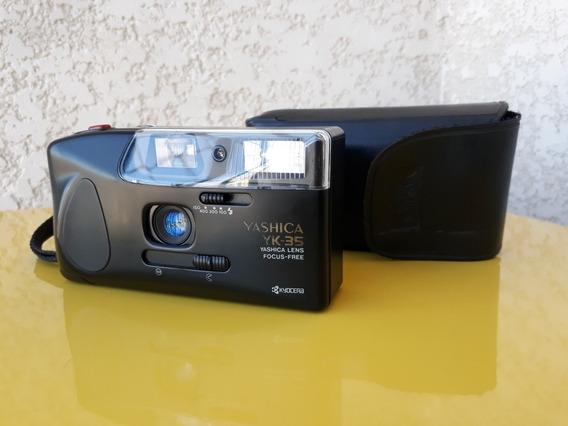 Câmera Fotográfica Antiga Yashica Yk 35 Analógica