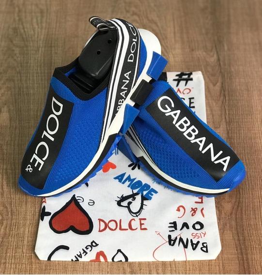 Tênis Dolce & Gabbana Unissex Do 34 Ao 43 Frete Grátis