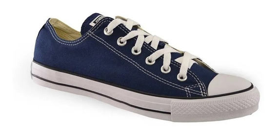 Zapatilla Converse Lifestyle Unisex Ct As Ox Marino-bco Cli