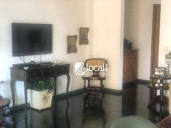 Apartamento Com 3 Dormitórios Para Alugar, 160 M² Por R$ 1.300/mês - Vila Imperial - São José Do Rio Preto/sp - Ap1958