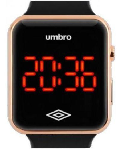 Relógio De Pulso Umbro Umb-led-g Dourado Digital