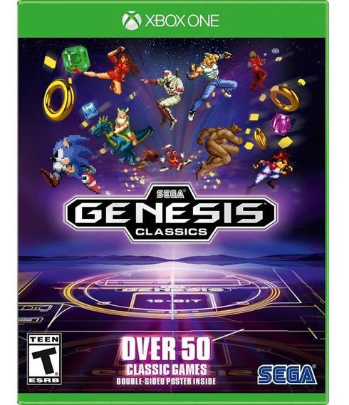 Sega Genesis Classics Xbox One Mídia Física Novo Original