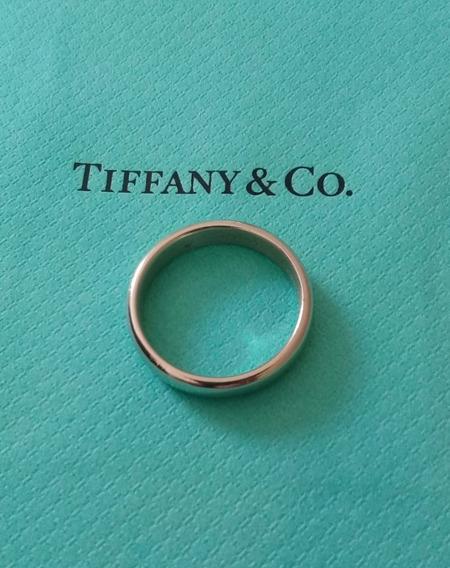 Anillo. Argolla De Matrimonio Tiffany Co. Platino