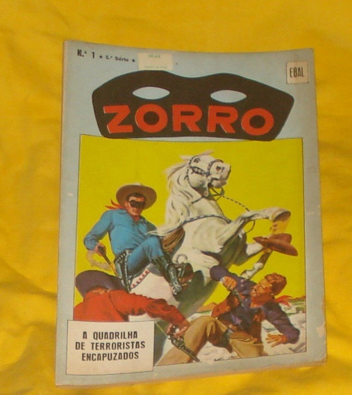 Revista Zorro Nº 1 Ebal Ótimo