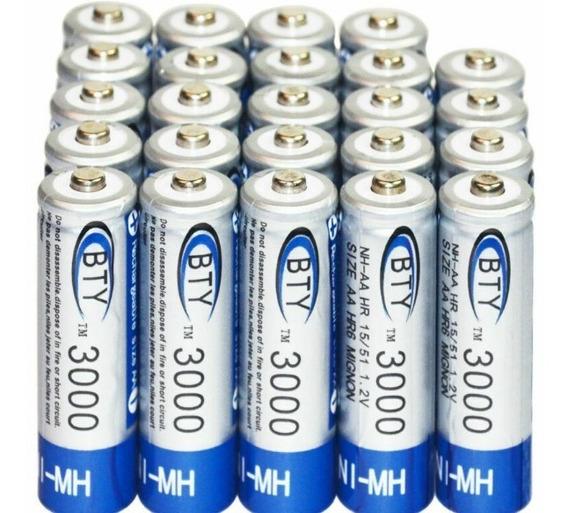 Bateria Aa 3000mah 1.2 V Ni-mh Batería Recargable Bty C/u