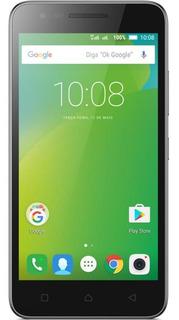 Celular Smartphone Lenovo Vibe C2 Preto Usado Seminovo Bom