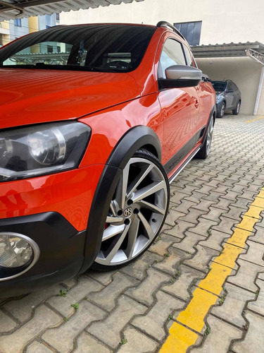 Imagem 1 de 7 de Volkswagen Saveiro 1.6 16v Cross Cab. Estendida Total Flex