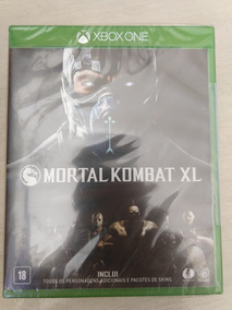 Jogo Mortal Kombat Xl Lacrado Para Xbox One