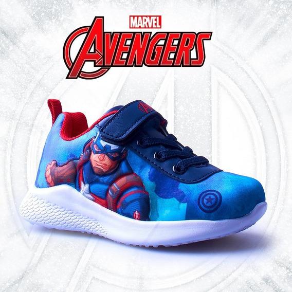 Zapatillas Niños Marvel Avenger Deportiva Superhéroes Atomik