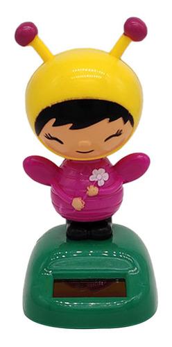 Brinquedo Movido A Energia Solar Da Menina Da Abelha