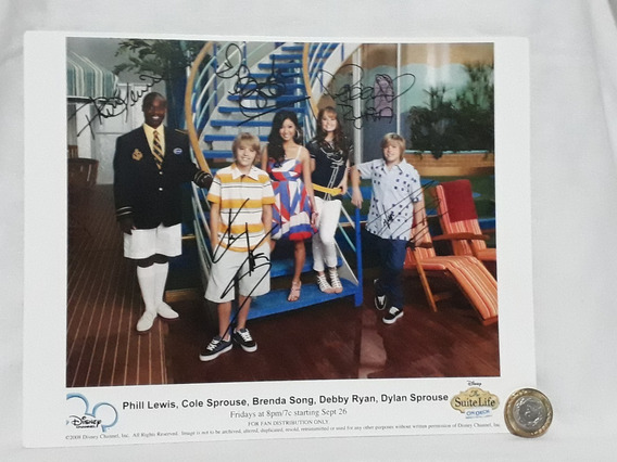 Tarjetón Postal Sweet Life On Deck De Disney No Envío