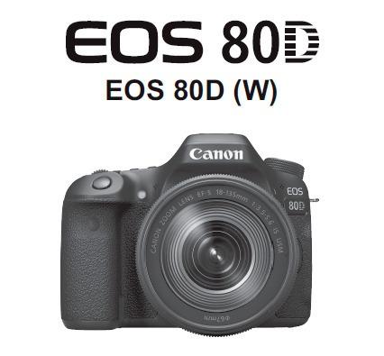Manual Em Português Canon Eos 80d