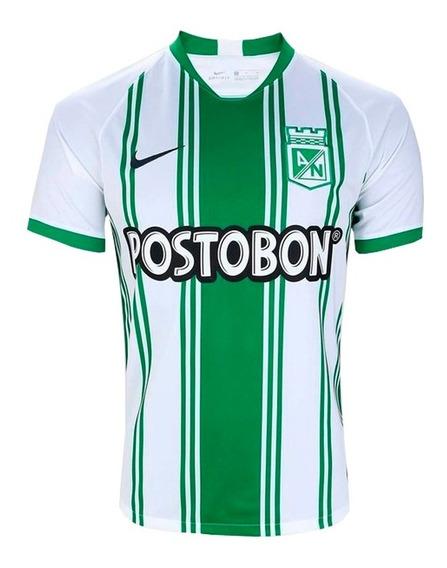 Camisa Do Atlético Nacional Colômbia 19/20 Oficial - Oferta