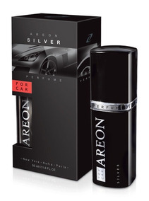 Aromatizante Carro Areon For Car Silver Perfume Automotivo