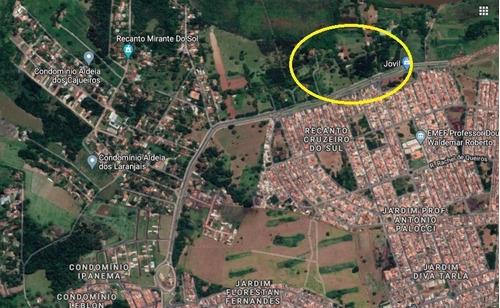 Excelente Area Para Comercio Com 10.000 M2 Para Venda No Ribeirão Verde Na Estrada Antonia Mugnato Marinceck, Fluxo De Mais De 90 Mil Pessoas - Ar00015 - 68113506