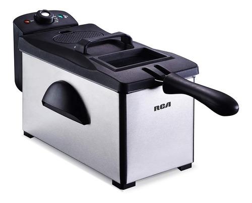 Freidora eléctrica RCA RC-DF303 3L plata 120V