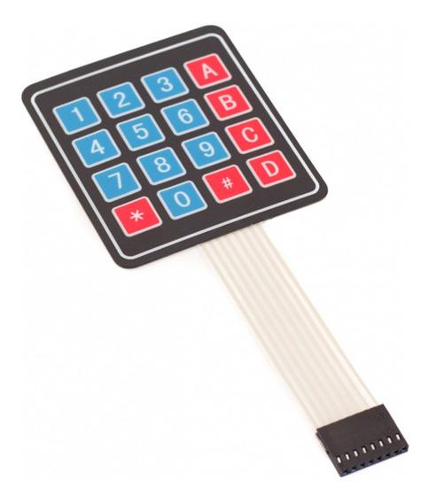 Teclado Membrana Matricial 4x4 16 Teclas - Arduino