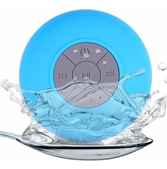 Mini Caixa Caixinha Som Prova Água Bluetooth Mp4 Usb Ventosa