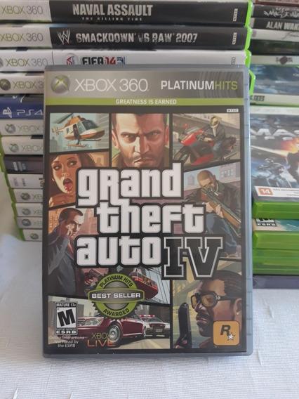 Gta 4 Xbox 360 Mídia Física