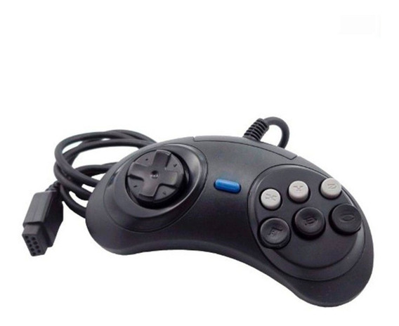Kit 2 Controles Mega Drive - Genéricos - Novos