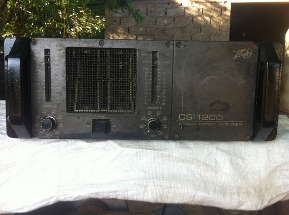 Amplificador ( Peavey ,cs1200 ) En 150 Verde Negociables