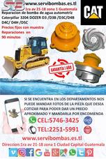 Reparacion De Bombas De Agua Automotrices Caterpillar 3204