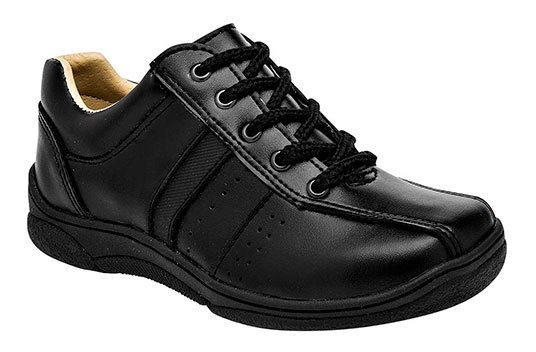 Cosmos Sneaker Deportivo Escolar Negro Sint Niño N32698 Udt