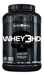 Whey Protein 3hd 900gr Black Skull Promoção